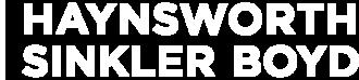 Haynsworth Sinkler Boyd P.A. logo